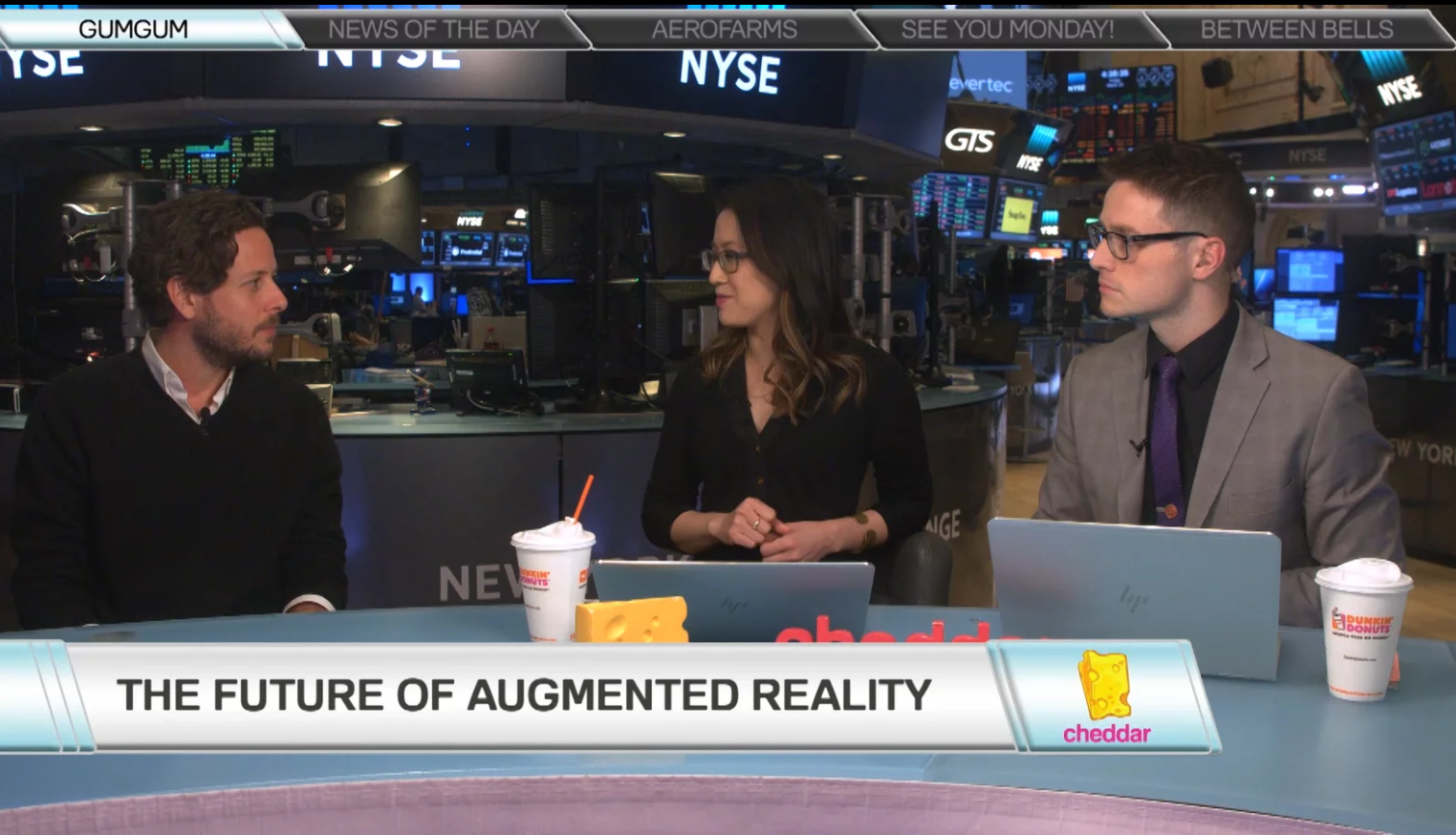 OPHIR TANZ CHATS AUGMENTED REALITY ON CHEDDAR LIVE
